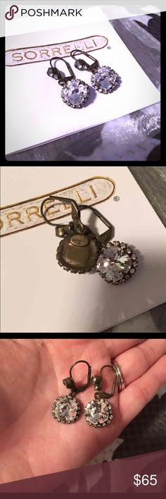 NWOT - Sorrelli Earrings NWOT - bought these for a special occasion and I just haven't had a chance to wear them! Brand new. Never worn. GORGEOUS earrings. Perfect for a wedding or date night. The pictures do NOT do these justice!!! Sorrelli Jewelry Earrings