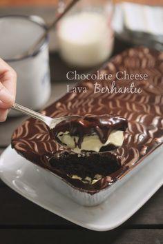 Chocolate Cheese Lava.. ooo.. inilah kek yang di katakan berhantu dan menjadi kegilaan ramai dan dah viral seantaro negara.  Wow! hebat ...