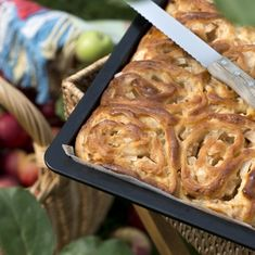 Apfelschnecken-Kuchen
