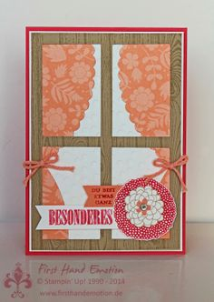Stampin' Up! by First Hand Emotion: IN{K}SPIRE_me Challenge #140: Blick durch's Fenster