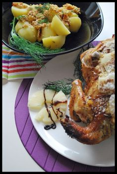 Chicken with pineapple and orange