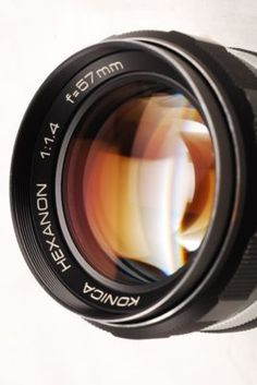 Lens Konica HEXANON 57mm F1.4  Just stumbled onto one of these bad boys.  Can't wait to get my adapter and try it out!
