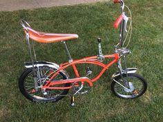 b6afb026e34 Schwinn 1973 sunset orange sting-ray 5 speed disc brake original paint bike