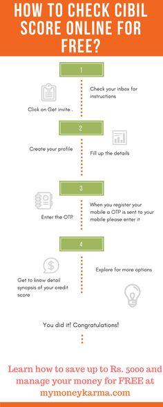 5 Ways to Improve Your CIBIL Score mymoneykarma Equifax Free - accomplishment report