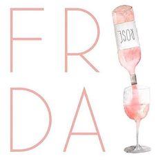 Friday = Rosé!