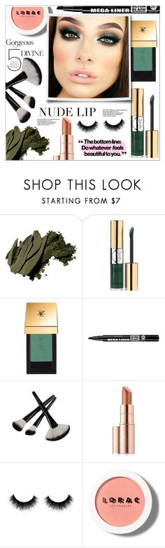 """Green Eyes Glow"" by christinacastro830 ❤ liked on Polyvore featuring beauty, Bobbi Brown Cosmetics, Yves Saint Laurent, Bourjois, Estée Lauder and LORAC"