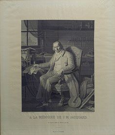Portrait of Joseph-Marie Jacquard, 1839