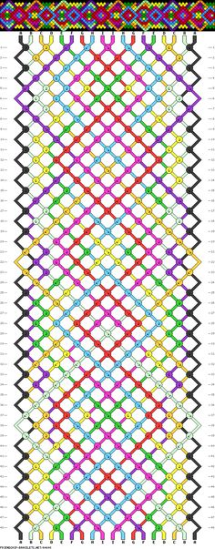 18 strings, 48 rows, 9 colors