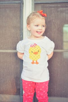 Little Chickie Easter Shirt or Onesie for Baby by GentrysCloset, $22.00