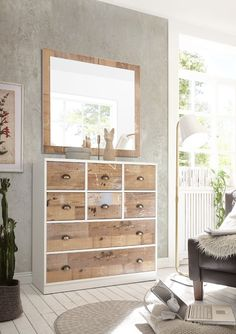 Pine Bedroom Furniture, White Bedroom, Chest Of Drawers, Storage Solutions, Dresser, Magic, Home Decor, Drawer Unit, Powder Room