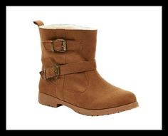 Faux Sheepskin Boot