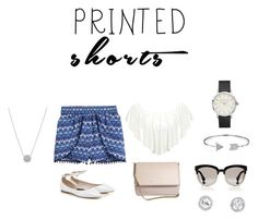"""Untitled #105"" by cassandrabianca ❤ liked on Polyvore featuring H&M, WearAll, Givenchy, Christian Dior, Bling Jewelry and printedshorts"