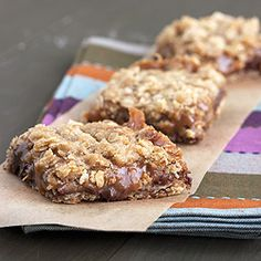 Ooey gooey chocolate and caramel make these carmelitas to die for!