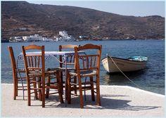 Amorgos Greece Deep Blue