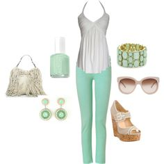 Mint!, created by paulette-lanni on Polyvore