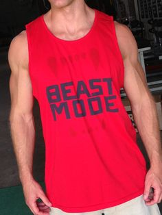 BEASTMODE tank - just in time for summer.