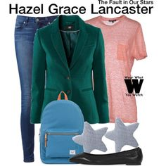 Inspired by Shailene Woodley as Hazel Grace Lancaster in 2014's The Fault in Our Stars.