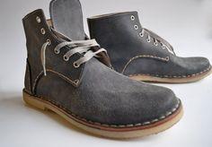 Handmade Curried Leather Men Desert Boots  MADE by MDesignWorkshop, €150.00