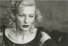Cate Blanchett - Vogue Italy - Sep 2003 - Photo by Peter Lindbergh