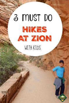 Hiking at Zion With kids? Check out our 3 favorite Utah hikes that we did with our kids at Zion National Park. The kids did awesome and one hike in particular was beyond amazing. Find out which one was our absolute favorite. Zion Park, Nationalparks Usa, All Family, Family Travel, Arizona, Las Vegas, National Park Camping, Hiking With Kids, Utah Hikes