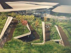 GOLD: Eco-Techno Park: Green building showcase and enterprise hub  Authors: Onat Öktem, Zeynep Öktem (ONZ Architects, Ankara, Turkey)