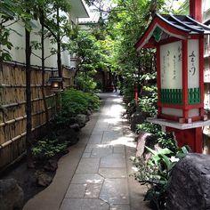 白山にある豆腐懐石料理五右衛門の入口。やや敷居高い。 - @NOBU- #webstagram