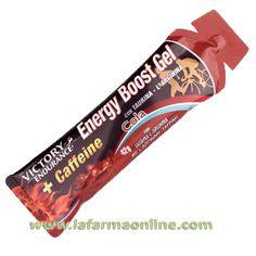 ENERGY BOOST GEL + CAFEINA SABOR COLA 42 G. VICTORY ENDURANCE
