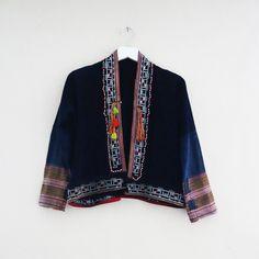 Red Dao Short Kimono jacket