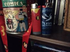 Lots of Dick Grayson imagery.  I made the lighters