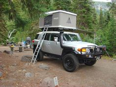 Roof top tents Roof top tents - Toyota FJ Cruiser Forum. I just need a tent and snorkel for mine :)