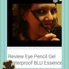 "Nuova #videoreview sul mio canale #youtube   ""Review Eye Pencil Gel Waterproof BLU Essence ""    #makeup #instamakeup #cosmetic #cosmetics  #fashion #eyepencil #beauty #makeupreview #eyemakeup #eyepencilWaterproof #essence @essence_cosmetics #beautyoftheday #videomaker #eyemakeupreview #eyepencil"