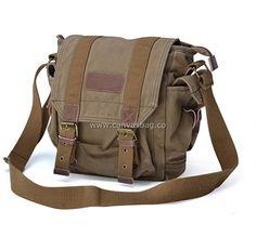 Canvas Shoulder Bag, Small Shoulder Bag, Shoulder Purse, Crossbody Shoulder Bag, Vintage Messenger Bag, Canvas Messenger Bag, Messenger Bag Men, Vintage Canvas, Vintage Bags