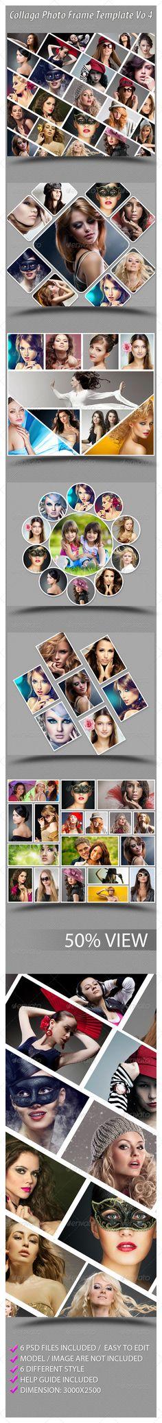 Collaga Photo Template Vo 4 #smart #product Download : https://graphicriver.net/item/collaga-photo-template-vo-4/6540292?ref=pxcr