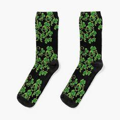 My Socks, Crew Socks, Designer Socks, Vines, Looks Great, Printed, Knitting, Heels, Awesome