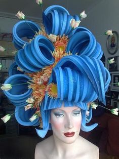 foam wig?!?!?!?1 Amazzzzzing inspiration.