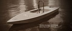 Step-By-Step Boat Plans - Flats boat, plan - Master Boat Builder with 31 Years of Experience Finally Releases Archive Of 518 Illustrated, Step-By-Step Boat Plans Make A Boat, Build Your Own Boat, Diy Boat, Sailboat Plans, Wood Boat Plans, Wooden Boat Building, Boat Building Plans, Plywood Boat, Wood Boats