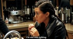 Silence can be golden. | 26 Important Life Lessons Kourtney Kardashian Taught Us All