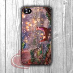 Disney Tangled Painting -mt for iPhone 6S case, iPhone 5s case, iPhone 6 case, iPhone 4S, Samsung S6 Edge