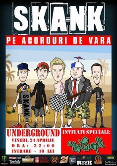 SKA-NK LIVE @Underground Pub