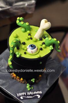 Witches Brew - by CBD @ CakesDecor.com - cake decorating website