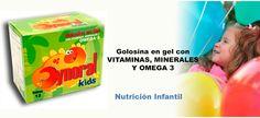 Dynoral Kids - Golosina en gel para niños ideal para una buena nutrición.