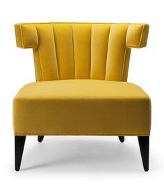Handmade English furniture. Isabella Slipper Chair - Stuart Scott Associates Ltd
