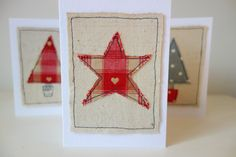 Making Embroidery Easier for You! Christmas Sketch, Christmas Card Crafts, Christmas Sewing, Christmas Fabric, Handmade Christmas, Christmas Cards, Christmas Stuff, Freehand Machine Embroidery, Free Motion Embroidery