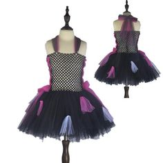 Scary Monster Girls Halloween Party Dress
