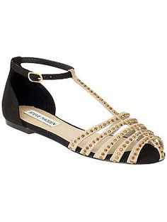 Steve Madden Anteek | Piperlime // ooh, these look like the Zara sandals I wore to death last summer!