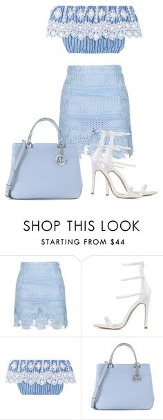"""""""Untitled #150"""" by reyhannalee on Polyvore featuring Topshop, Miguelina and Michael Kors"""