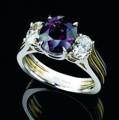 The stone was first found in the Ural Mountains in Czarist Russia in 1830. It was named for the crown prince Alexander, who became Czar Alexander II. Today, very little alexandrite is found in Russia. Now its most important sources are Brazil and Sri Lanka.  Alexandrite has a hardness of 8 1/2 on the Mohs scale, so it is a very wearable stone. Larger stones are, however, very rare, with only a few being on display in museums around the world.