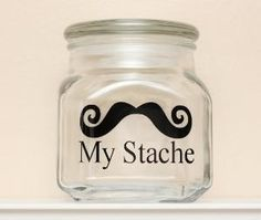 """Gonna make it say, """"My Laundry stashe"""". But instead of the word stashe I'll just put the mustache pictures. :)"""