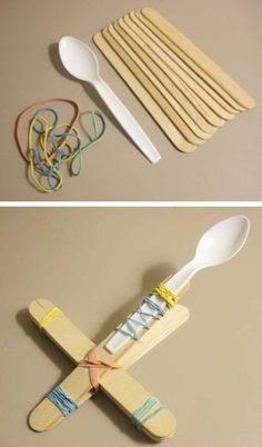 Hele leuke en goedkope zelfmaak ideetjes om met de kinderen te maken!