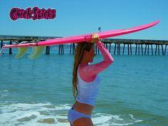 www.chicksticksbylola.com for all your surfer girl needs!